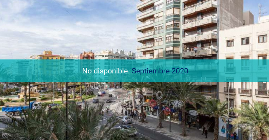 Terraza en Alicante con vistas a Luceros