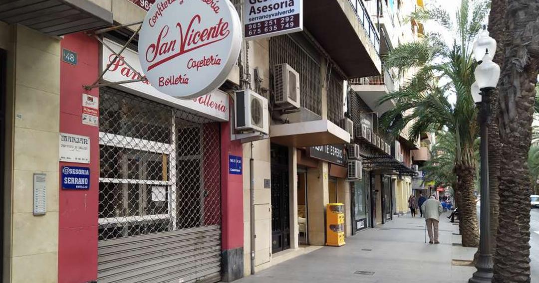 Local en alquiler en el centro de Alicante
